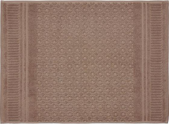 Předložka Koupelnová Carina - šedá, Romantický / Rustikální, textil (50/70cm) - Mömax modern living