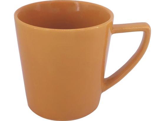 Hrnek Na Kávu Merit - žlutá, Moderní, keramika (8,7/9cm) - Premium Living