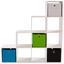 Raumteiler Pisa 6 ca. 149/150/35cm Weiß - Weiß, MODERN, Holzwerkstoff (149/150/35cm)