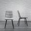 Stolička Mario - čierna/svetlosivá, Moderný, kov/drevo (39/88/59,5cm) - Modern Living