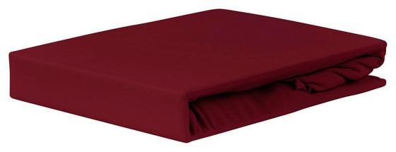 Gumis Lepedő Jardena 100x200 Cm - bordó, konvencionális, textil (90-100/200cm) - OMBRA
