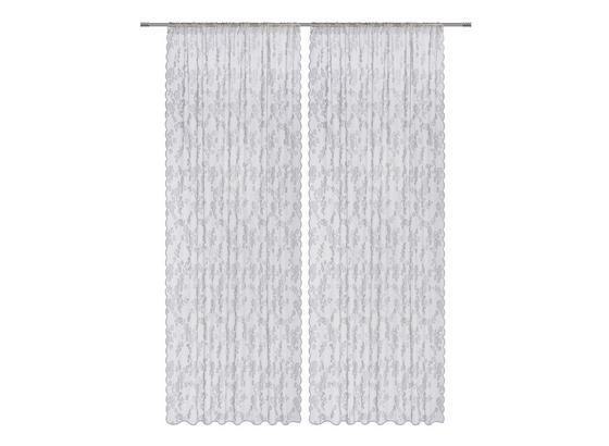 Závěs Babette 2 Ks. - bílá, Romantický / Rustikální, textil (140/245cm) - Mömax modern living