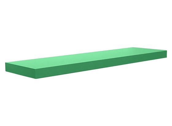 Nástenný Regál Giga - zelená, Moderný, kompozitné drevo (80/3,8/23,5cm)