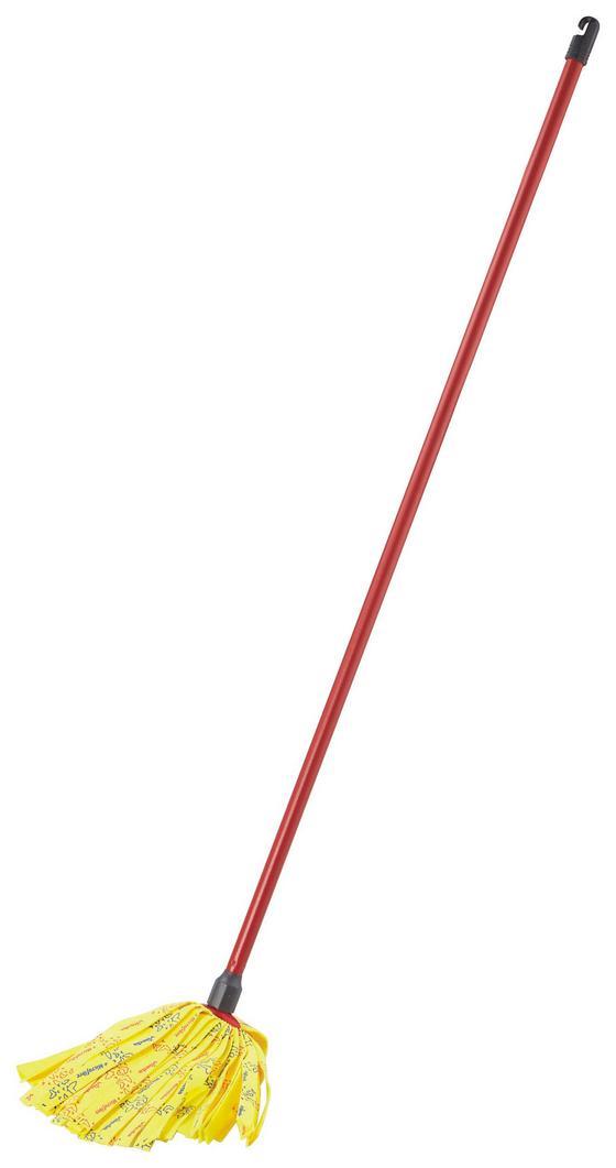 Bodenwischer Mocio Soft - Gelb/Rot, KONVENTIONELL, Kunststoff/Textil (7.7/152.3/15cm) - Vileda