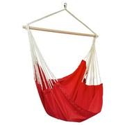 Hängesessel Chillax - Rot/Grau, KONVENTIONELL, Textil (120/130cm) - Ombra