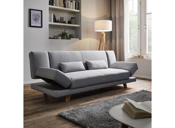 Xl Pohovka Faith - svetlosivá, Moderný, drevo/textil (200/73/83cm) - Modern Living