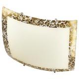 Deckenleuchte Galia - Goldfarben, ROMANTIK / LANDHAUS, Glas/Metall (25/25cm) - James Wood
