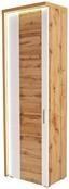 Szekrény Eleganza - Tölgyfa/Fehér, modern, Faalapú anyag (65/201.3/38cm)
