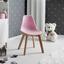 Detská Stolička Tibby - ružová, Moderný, drevo/plast (30/56,5/32,5cm) - Mömax modern living