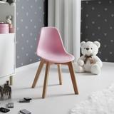 Dětská Židle Tibby - růžová, Moderní, dřevo/umělá hmota (30/56,5/32,5cm) - Mömax modern living