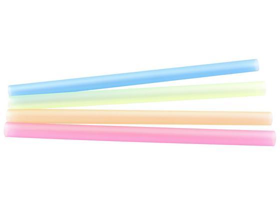 Slámka Smoothie - oranžová/modrá, Moderní, umělá hmota (1/20cm) - Mömax modern living