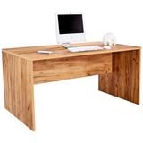Schreibtisch Profi - Eichefarben, MODERN, Holzwerkstoff (160/76/80cm) - Ombra