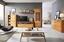 Regál Durham - bílá/přírodní barvy, Moderní, dřevo/dřevěný materiál (55/180/25cm) - Mömax modern living