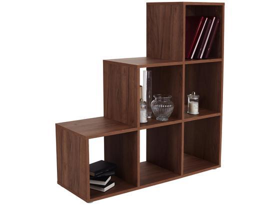 Raumteiler Pisa 03 - Eichefarben, MODERN, Holz (112/114/35cm)