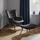 Relaxační Křeslo Merlin - tmavě šedá, Moderní, dřevo/textil (71/98/80cm) - Modern Living