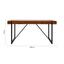 Jedálenský Stôl Phil - čierna/farby akácie, Moderný, kov/drevo (160/90/75cm) - Modern Living