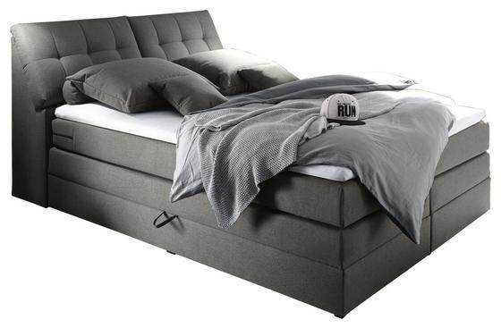 Boxspringbett 180 x 200 cm mit Bettkasten