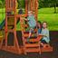 Spielturm Backyard Discovery Sunnydale - Gelb/Braun, MODERN, Holz (406,4/284,4/328cm)