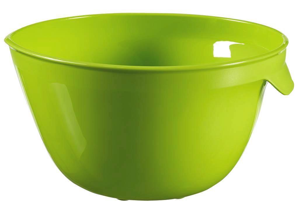 Keverőtál Zöld - zöld, műanyag (20/11/23cm)