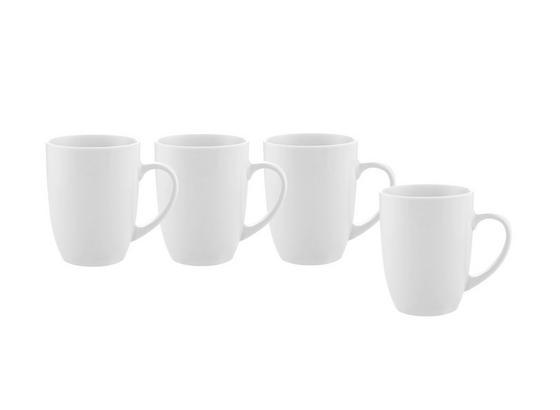 Hrnček Na Kávu 4 Ks Set, Billy -top- - biela, Moderný, keramika (8,2/10,3cm) - Mömax modern living