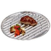 Grillschale BBQ - Silberfarben, Basics, Metall (34,5/34,5/2,5cm)