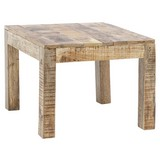 Couchtisch Holz Massiv Rustica Mangoholz - Braun, Design, Holz (60/60/47cm) - Livetastic