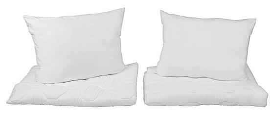 4 Részes Paplan-párna Szett Pauline - fehér, konvencionális, textil - PRIMATEX