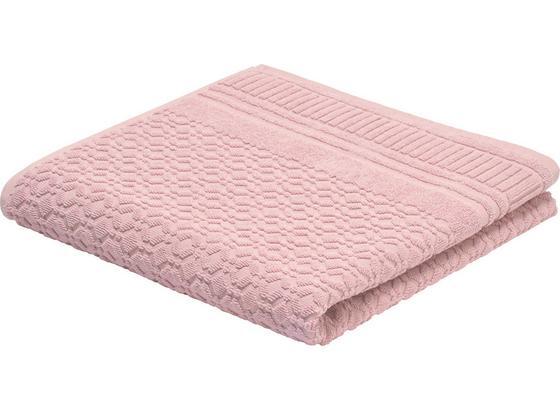 Osuška Carina -top- - růžová, Romantický / Rustikální, textil (70/140cm) - Mömax modern living