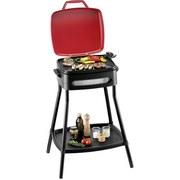 Barbecue Grill BBQ Power Grill 1680-2000 W 49x59x89,5 cm - Schwarz, MODERN, Metall (49/59/89,5cm)