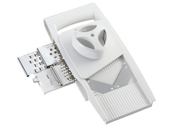 Allzweckreibe Leifheit - Weiß, KONVENTIONELL, Kunststoff (13/7/32cm) - Leifheit