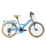 Kinderfahrrad Kinderrad 20'' Toskana 634K - Blau, Basics, Metall (180/70/80cm)