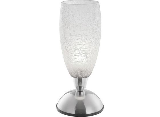 Tischleuchte Maria - Klar, KONVENTIONELL, Glas/Metall (12,5/28cm) - James Wood