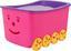 Aufbewahrungsbox Smiley - Rot/Orange, KONVENTIONELL, Kunststoff (58/40/33cm) - Plast 1