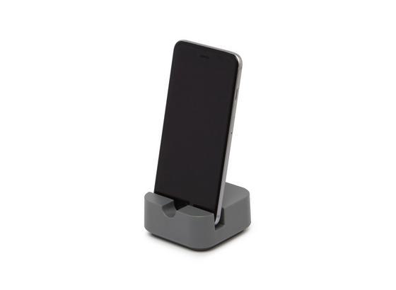 Držiak Na Mobil Lilo - sivá, Moderný, plast (7,77/7,77/3,81cm) - Mömax modern living