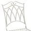Balkonset Portes - Weiß, MODERN, Metall - Ombra