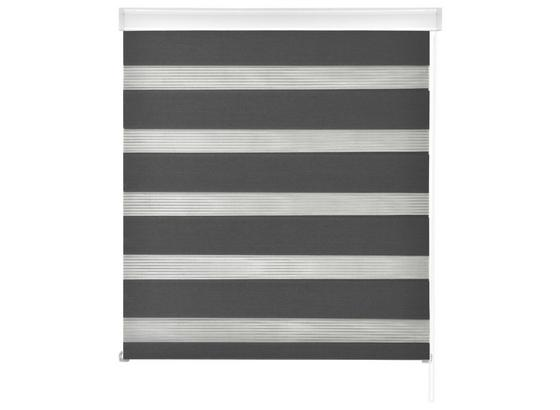 Duorollo Emanuel - Grau, MODERN, Kunststoff/Textil (45/160cm) - Luca Bessoni
