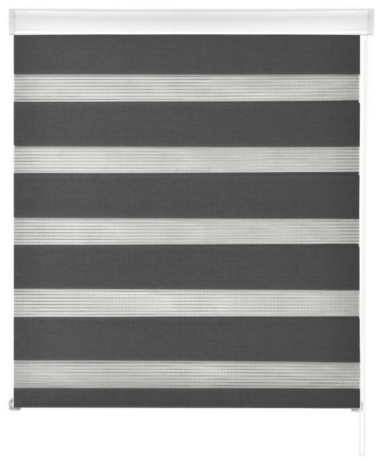 Duorollo Emanuel - Grau, MODERN, Textil (80/160cm) - Luca Bessoni