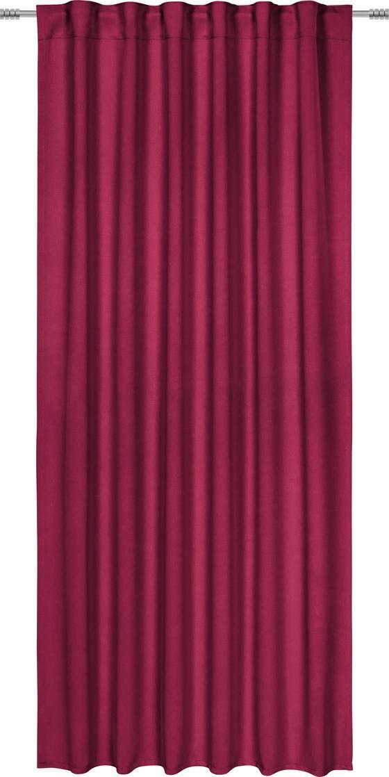 Zatemňovací Záves Riccardo - bobuľová, textil (140/245/cm) - Premium Living