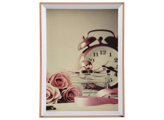 Rám Na Fotky Mara - ružová, plast (13,6/18,7/1,8cm) - Modern Living
