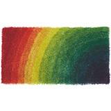 Hochflorteppich Adamina - Multicolor, KONVENTIONELL, Textil (60/120cm) - LUCA BESSONI