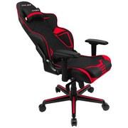 Gamingstuhl Dxracer Racing V2 Schwarz/Rot - Rot/Schwarz, MODERN, Kunststoff/Textil (67/122-132/67cm) - Dxracer