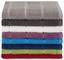 Handtuch Liliane - Dunkelgrau, KONVENTIONELL, Textil (50/100cm) - Ombra