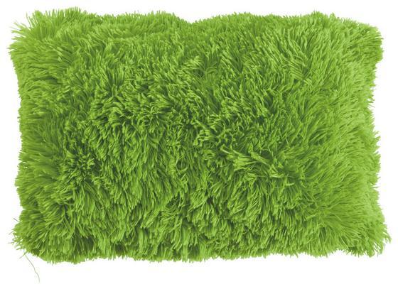 Díszpárna Carina - Zöld, modern, Textil (30/50cm) - Luca Bessoni