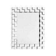 Wandspiegel Dionysos Silber - Silberfarben, Basics, Glas/Metall (65/85/2,8cm)