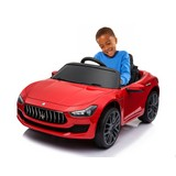 Kinderauto Maserati Ghibli - Rot, Basics, Kunststoff/Metall (108/56/44cm)