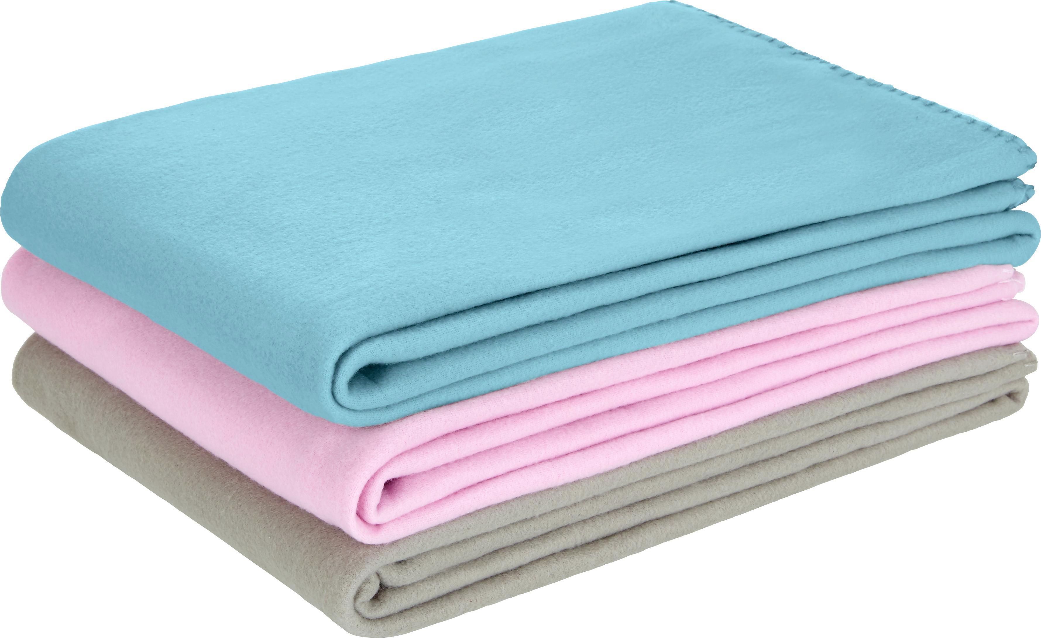Fleecová Přikrývka Trendix -top- - světle šedá, textil (130/180cm) - MÖMAX modern living
