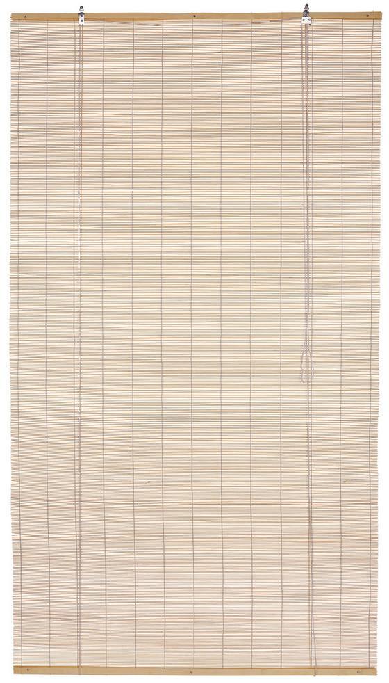 Rollo Willi - Naturfarben, KONVENTIONELL, Holz (100/180cm) - Ombra