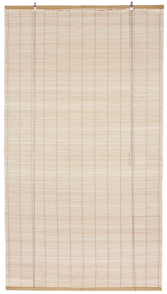 Roló Willi - natúr színek, konvencionális, fa (80/180cm) - OMBRA