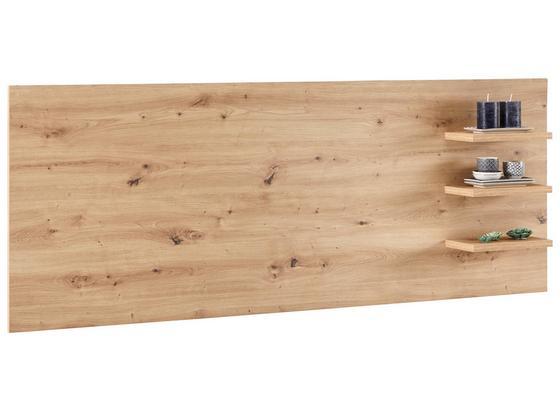 TV-Aufsatz Kashmir New - Eichefarben, MODERN, Holzwerkstoff (185/70/18cm) - James Wood