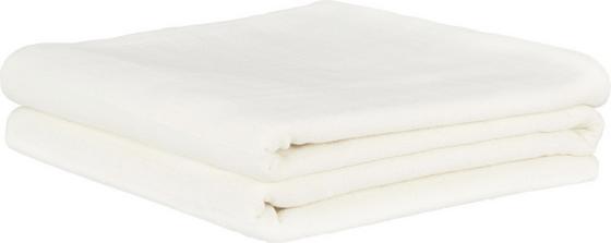 Přehoz Solid One -ext- - přírodní barvy, textil (240/210cm)